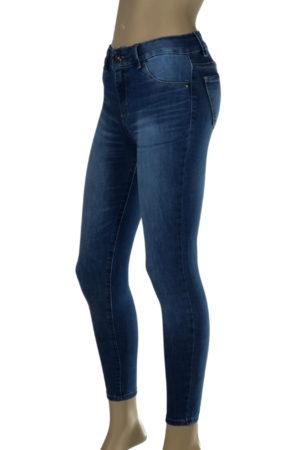 Jeans Localizado Laser con Ruedo DanielCassin