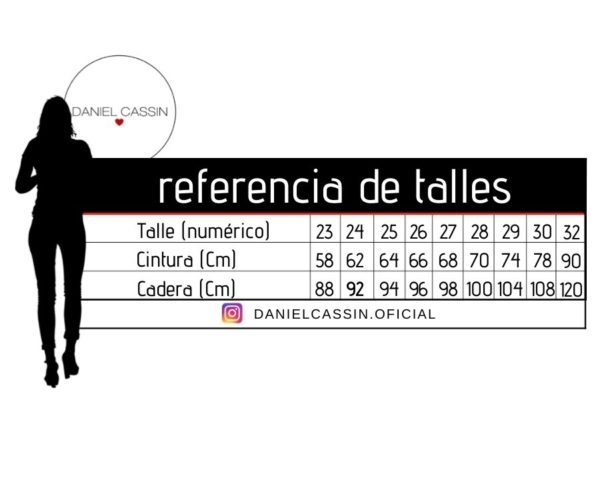 TALLES DENIM DANIELCASSIN